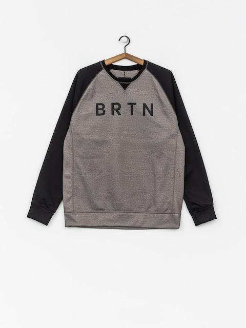 Burton Funktionssweatshirt Crown Bndd Crew (htrmnt/trublk)
