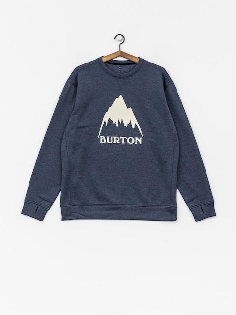 Burton Sweatshirt Oak Crew (mood indigo heather)