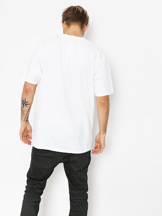 HUF T-shirt Essentials Box Logo (white)