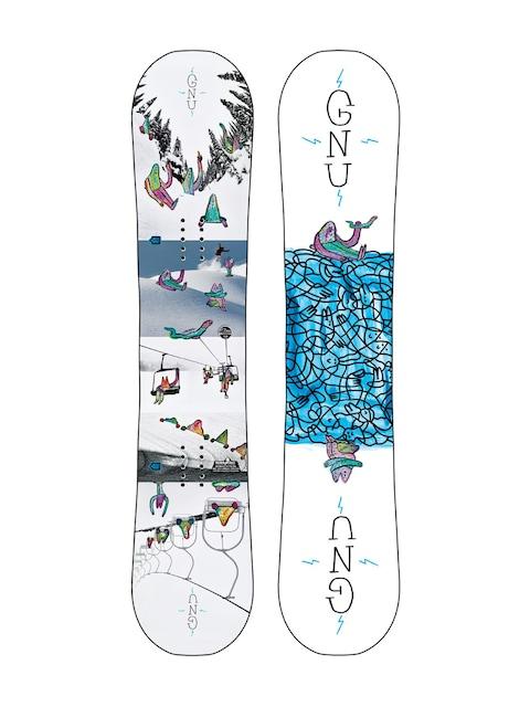 Gnu Snowboard Asym Recess Btx (multi)