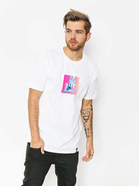 HUF T-Shirt Huf X Sorayama Box (white)