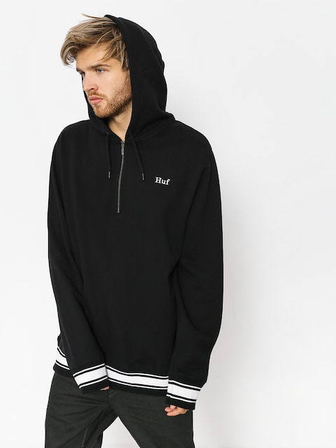 HUF Hoodie Relay French Terry HD (black)