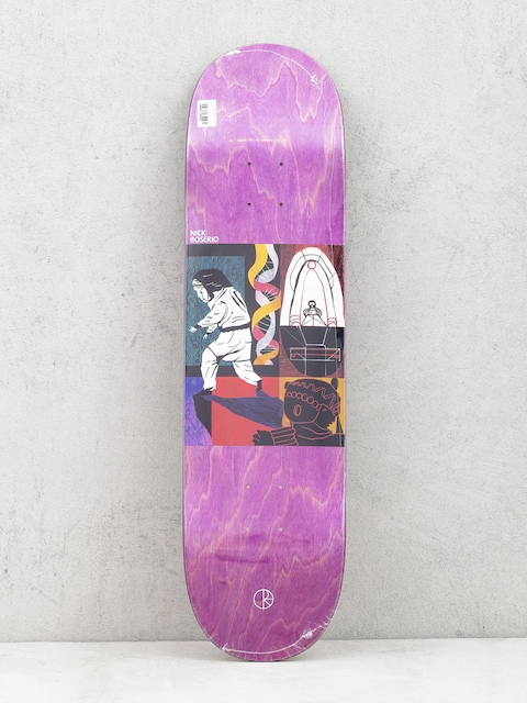 Polar Skate Deck Nick Boserio Alien Encounter (violet)