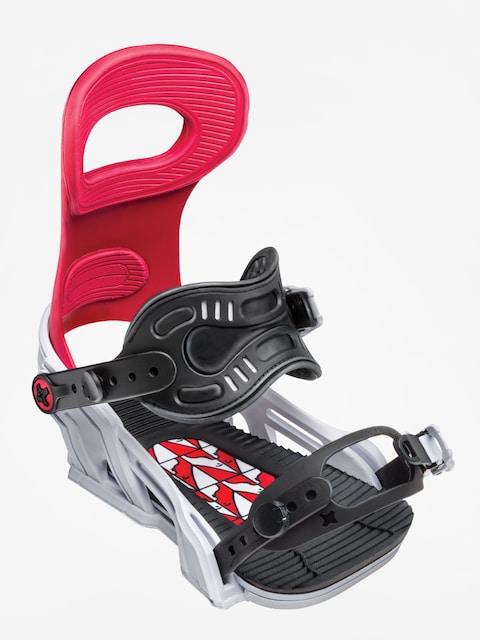 Bent Metal Snowboard bindings Transfer (red)