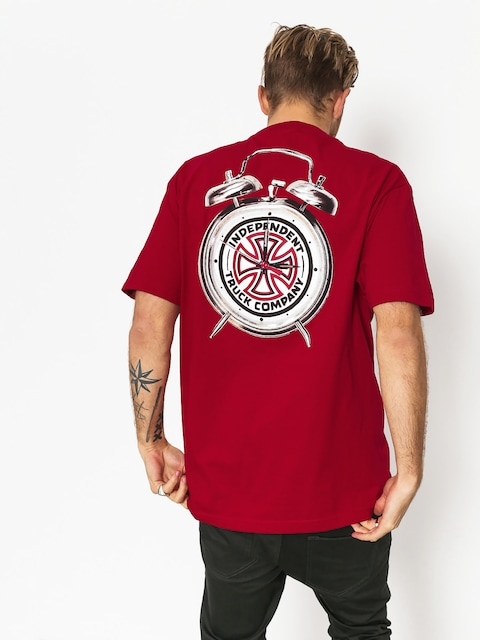 Independent x Thrasher T-Shirt Ttg (cardinal red)