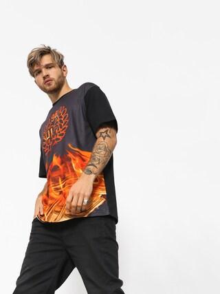 MassDnm T-Shirt Burn Babylon (black)