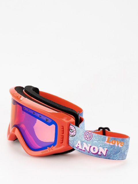 Anon Goggles Tracker (girl power/blue amber)