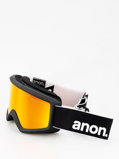 Anon Goggle Helix 2 Sonar W Spare (black/sonar red)