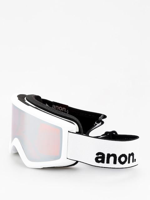 Anon Goggle Helix 2 Sonar W Spare (white/sonar silver)
