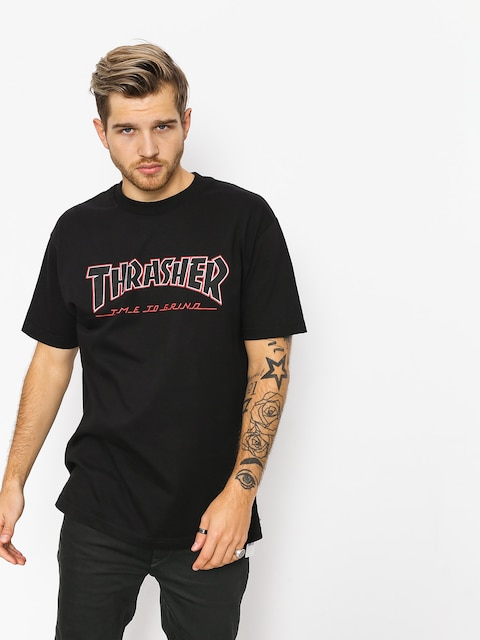 Independent T-shirt x Thrasher Ttg (black)