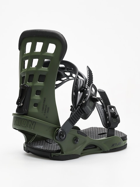 Union Snowboard bindings Atlas (matte green)