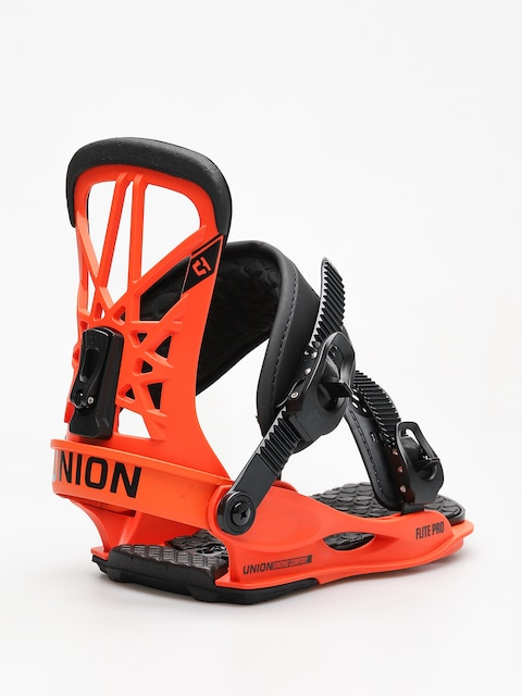 Union Snowboard bindings Flite Pro (orange)