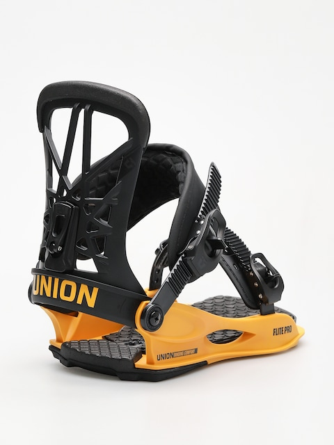 Union Snowboard bindings Flite Pro (black yellow)