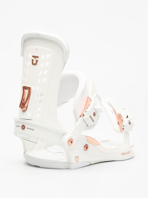 Union Snowboardbindung Trilogy Wmn (white)