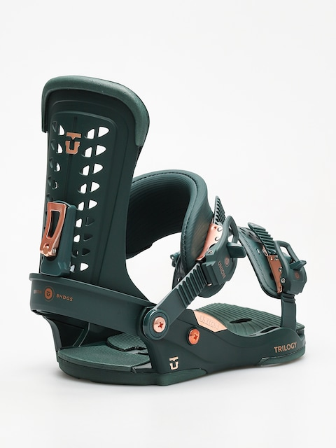 Union Snowboardbindung Trilogy Wmn (green)