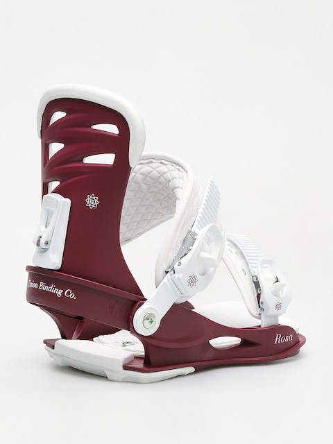Union Snowboard bindings Rosa Wmn (burgundy)