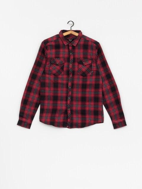 Iriedaily Shirt Rosomako 2 0 Ls (dark red)