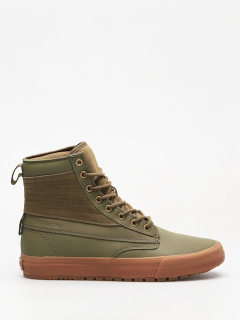 Supra Shoes Graham  Cw (olive lt gum)