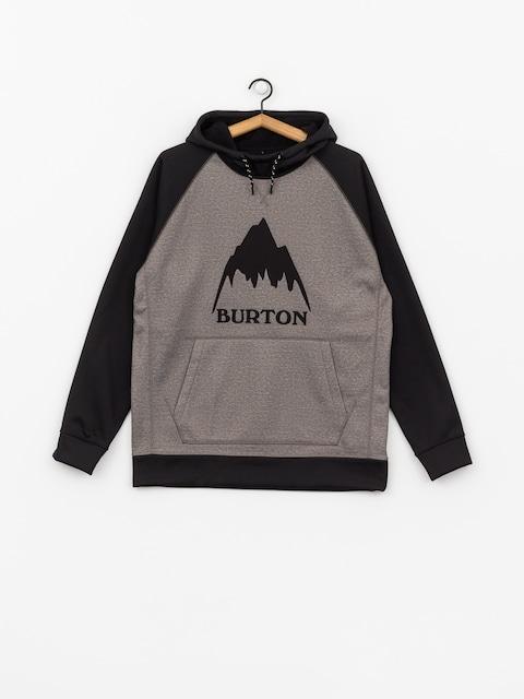 Burton Funktionssweatshirt Crown Bndd HD (htrmnt/trublk)