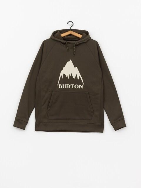 Burton Funktionssweatshirt Crown Bndd HD (forest night)