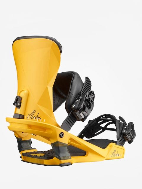 Salomon Snowboard bindings Alibi (yellow)