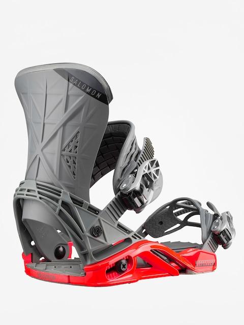 Salomon Snowboard bindings Defender (grey/red)