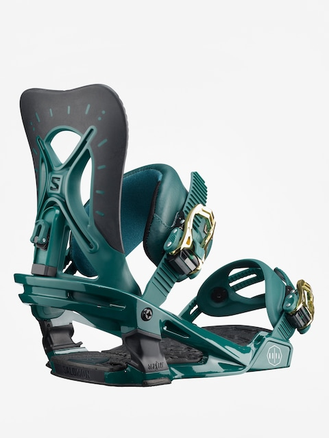 Salomon Snowboard bindings Nova Wmn (teal green)