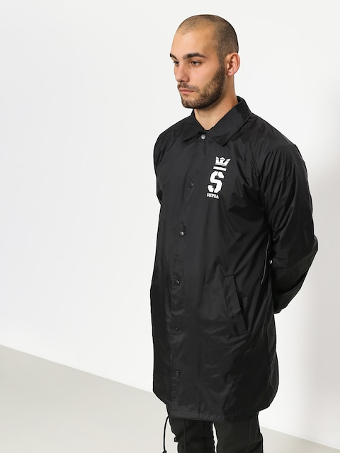 Supra Jacket Champ Trench Coaches (black/wht)