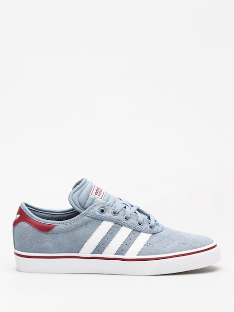 adidas Shoes Adi Ease Premiere (raw steel s18/ftwr white/collegiate burgundy)
