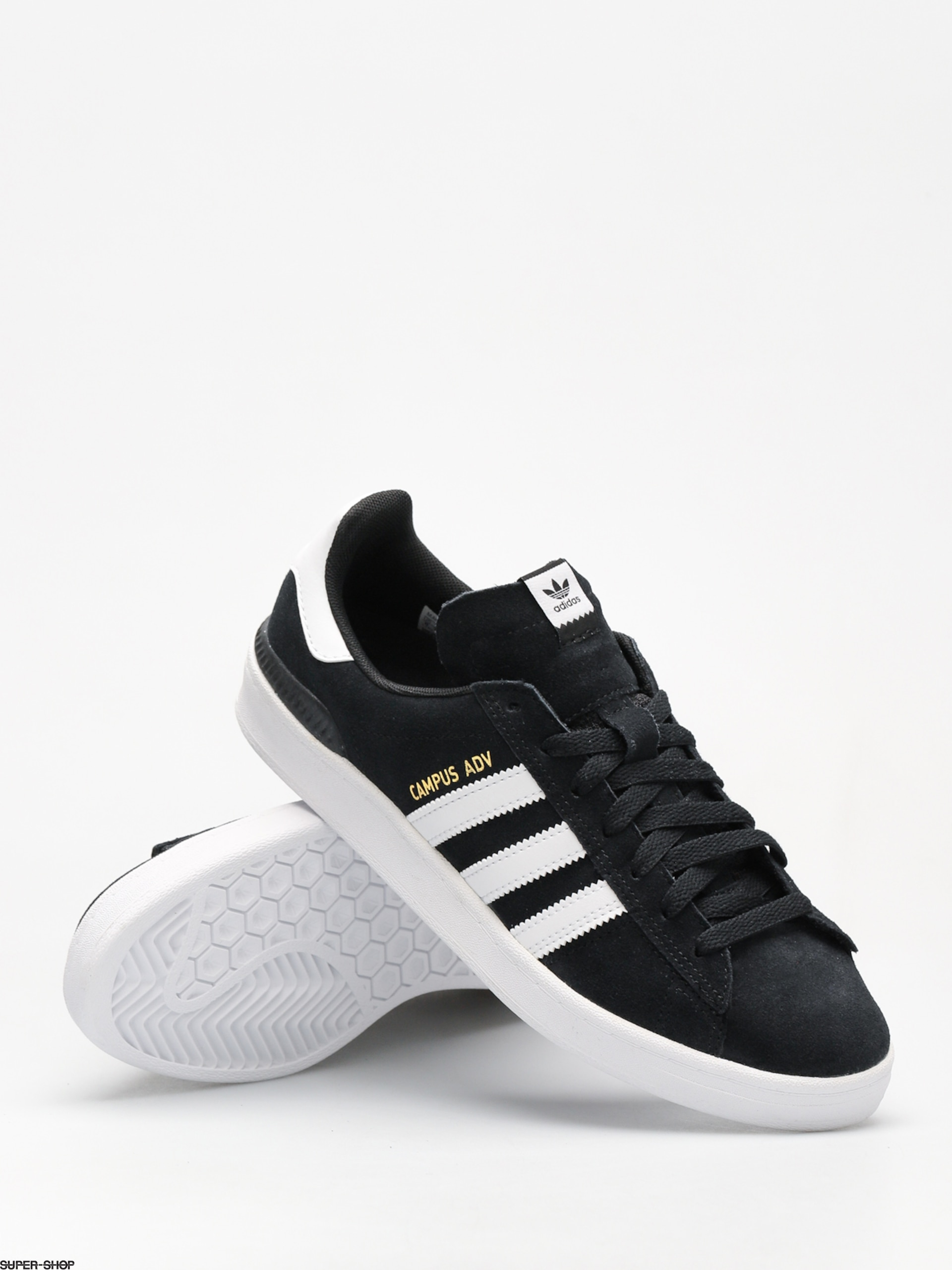 374be981 adidas Shoes Campus Adv (core black/ftwr white/ftwr white)