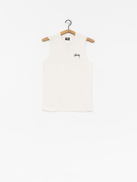 Stussy T-shirt Stock Raw Muscle Wmn (stone)