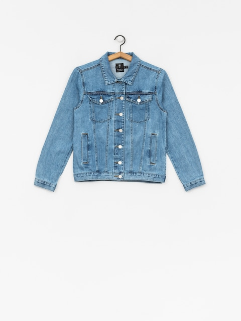 Volcom Jacket Gmj Denim Wmn (lbl)