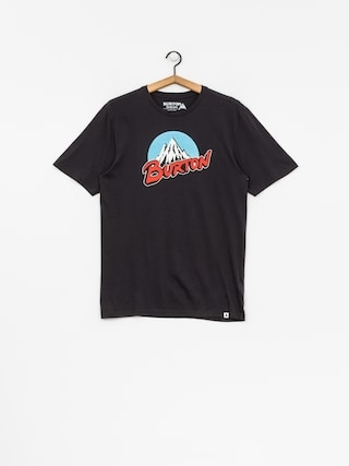 Burton T-shirt Retro Mtn (true black)
