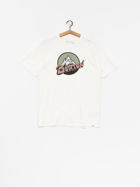 Burton T-shirt Retro Mtn (stout white)