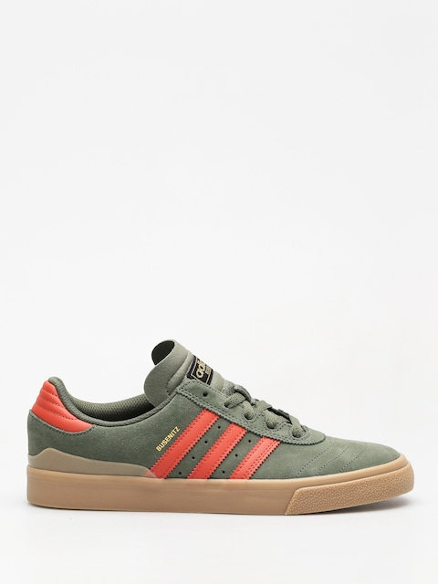 adidas Shoes Busenitz Vulc (base green/raw amber/gum4)