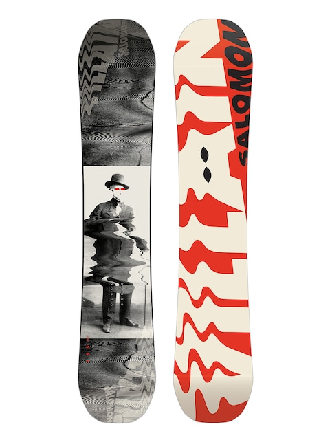Salomon Snowboard The Villain (red/white/black)
