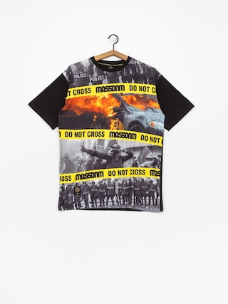 MassDnm T-shirt Do Not Cross (black)