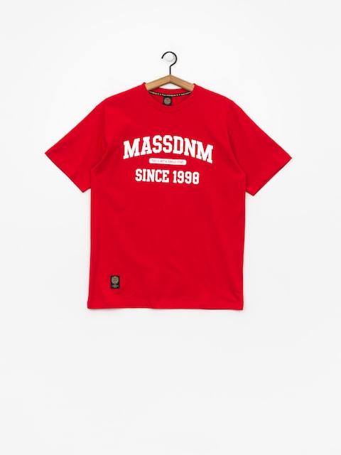 MassDnm T-Shirt Campus (red)