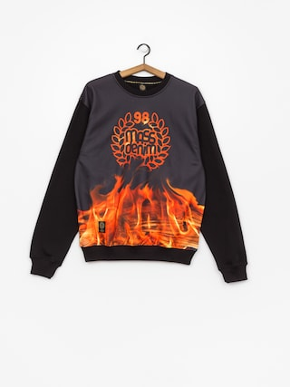 MassDnm Sweatshirt Burn Babylon (black)