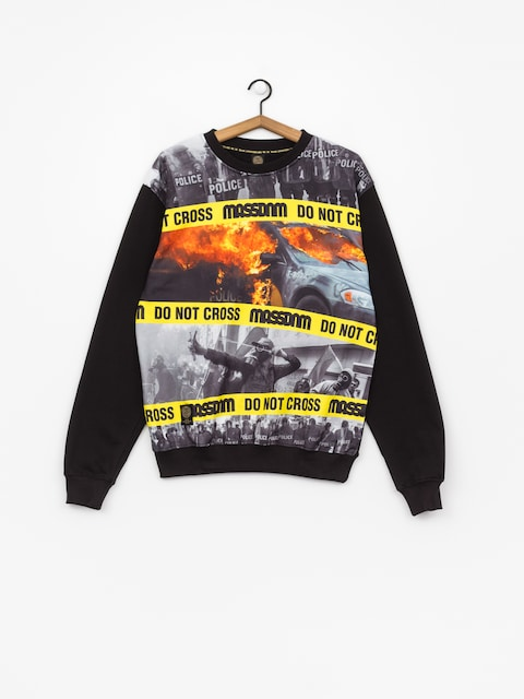 MassDnm Sweatshirt Do Not Cross