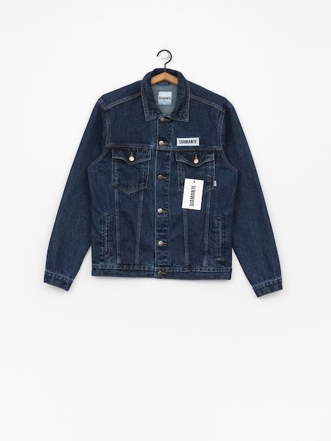 Diamante Wear Jacke Fuck Everything (navy)