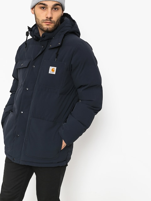 Carhartt WIP Jacket Alpine Coat (dark navy/hamilton brown)