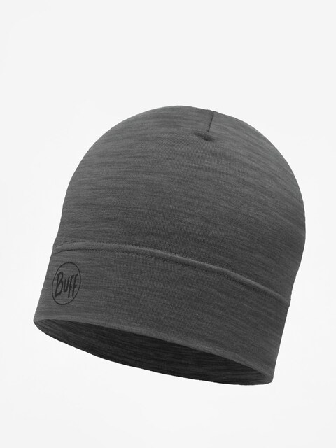 Buff Mütze Lw Merino Wool (solid grey)