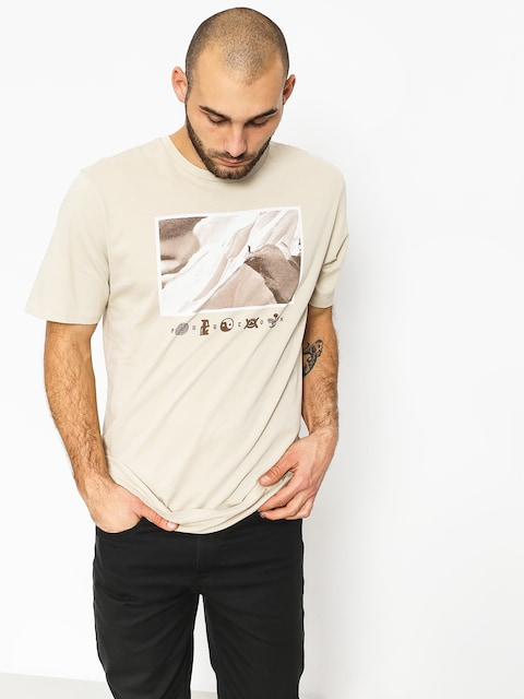 Burton T-Shirt Make Tracks (pelican)