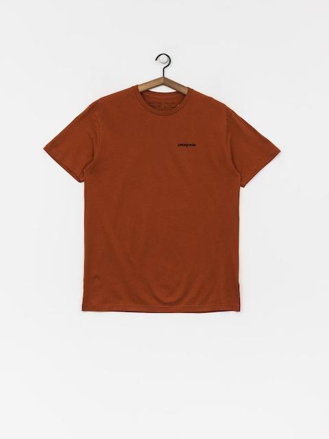 Patagonia T-shirt Logo Organic (copper ore)