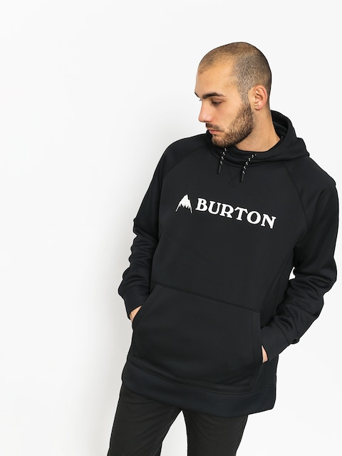 Burton Active sweatshirt Crown Bndd HD (true black)