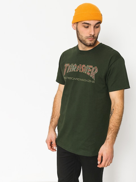 Thrasher T-shirt Davis Forest (green)