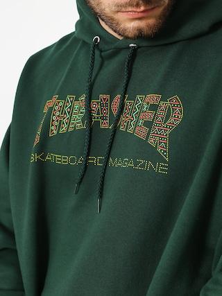 Thrasher Hoodie Davis Forest HD (green)