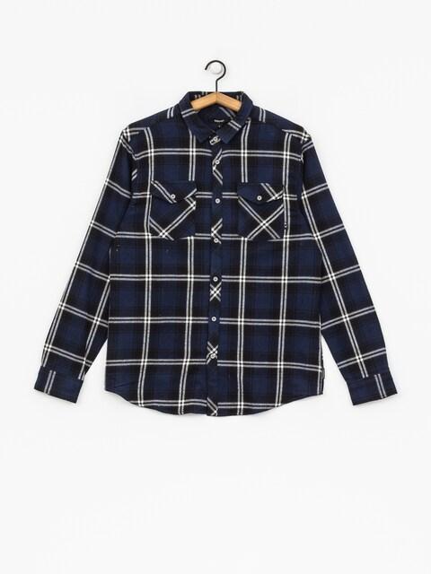 Iriedaily Shirt Rosomako 2 0 Ls (navy blue)