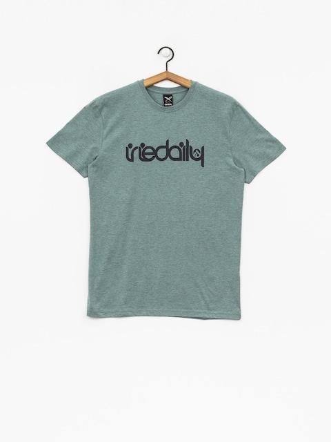 Iriedaily T-Shirt No Matter 4 (mint grey)